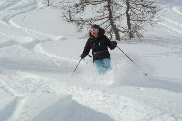 Louise Forrest Off piste Val disere