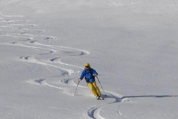 Early season Off-Piste Val d'Isere