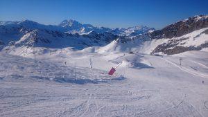 Pissaillas Glacier Val d'Isere 5th November