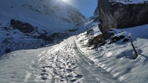 Tour de Charvet Exit route 4th December 2016